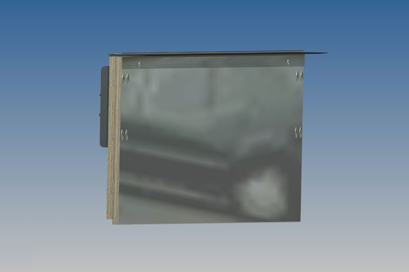 Whiting Door Manufacturing Corp Top Panel Complete