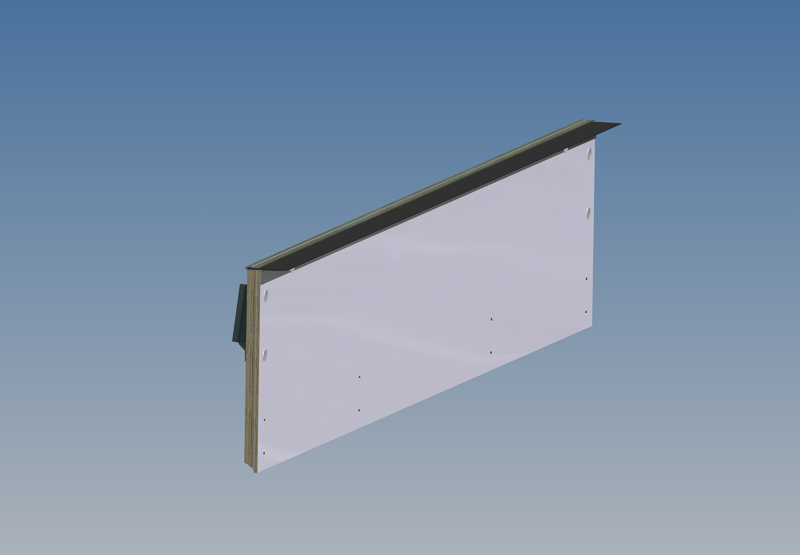 Whiting Door Manufacturing Corp Top Panel Plain